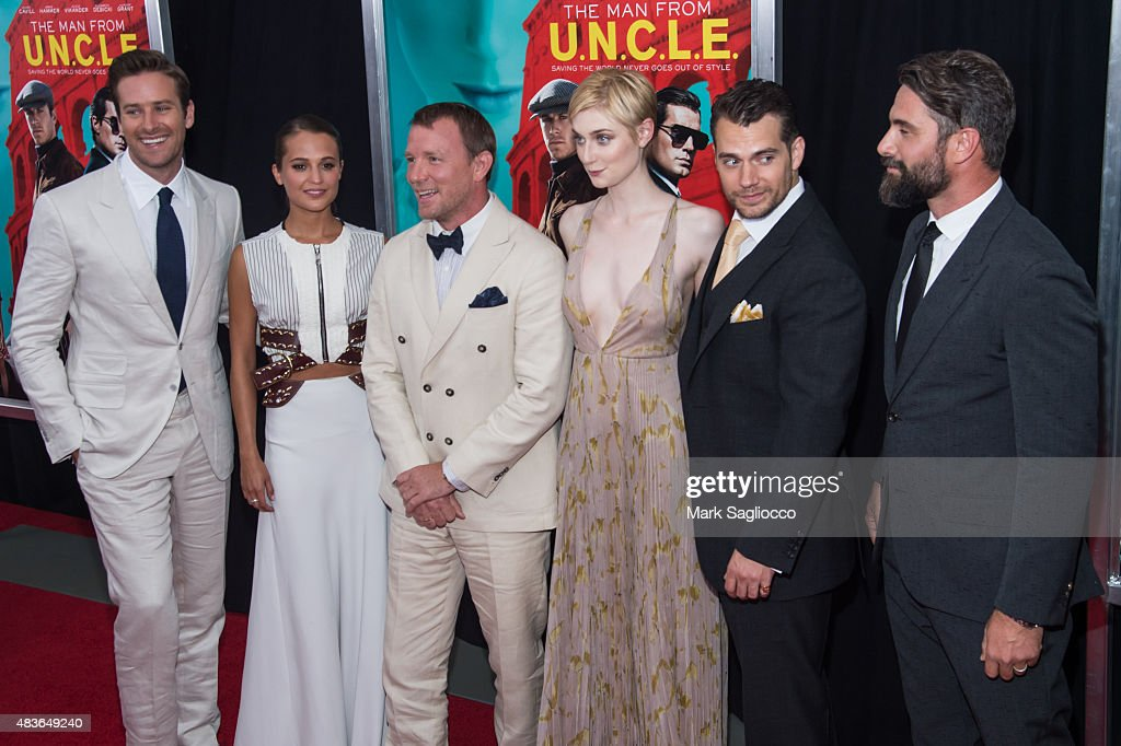 """""""The Man From U.N.C.L.E."""" New York Premiere - Outside Arrivals"""