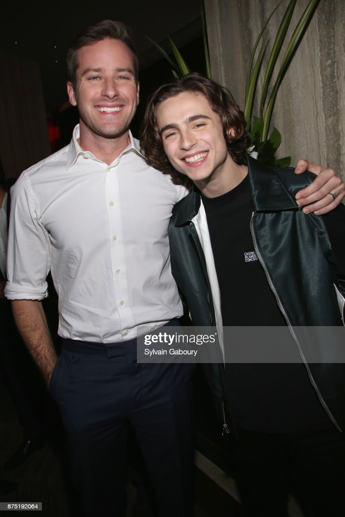 "Calvin Klein and The Cinema Society host the after party for Sony Pictures Classics' ""Call Me By Your Name"""