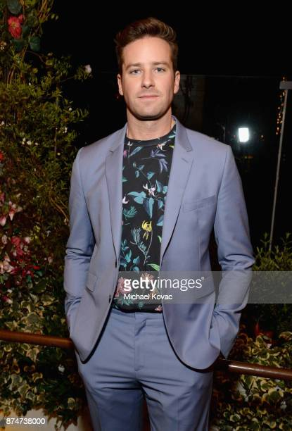 Armie Hammer at Moet Celebrates The 75th Anniversary of The Golden Globes Award Season at Catch LA on November 15 2017 in West Hollywood California