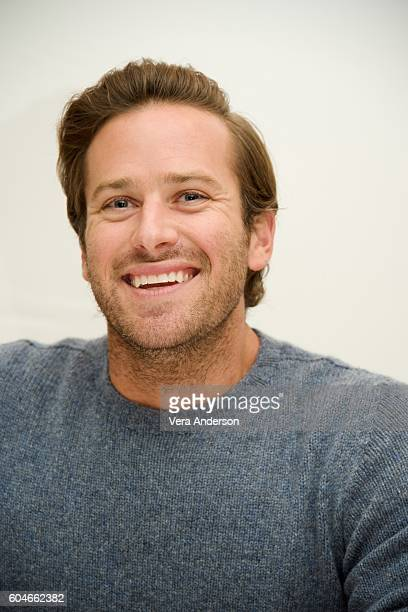 Armie Hammer at 'The Birth of a Nation' Press Conference at the Fairmont Hotel on September 11 2016 in Toronto Canada