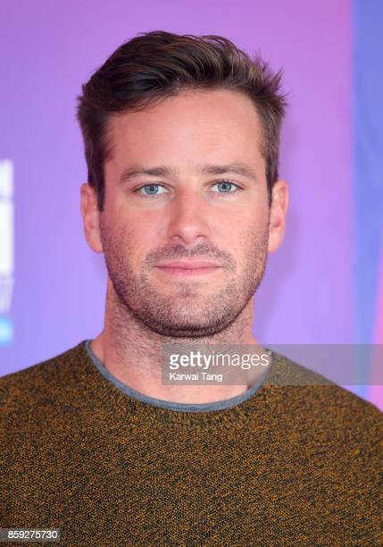 Armie Hammer attends a photocall for 'Call Me By Your Name' during the 61st BFI London Film Festival at the May Fair Hotel on October 9 2017 in...