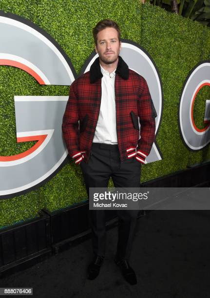 Armie Hammer attends the 2017 GQ Men of the Year party at Chateau Marmont on December 7 2017 in Los Angeles California