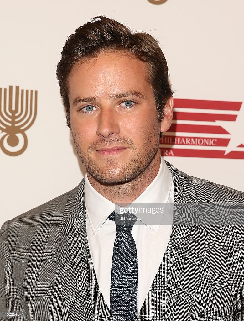 <a gi-track='captionPersonalityLinkClicked' href=/galleries/search?phrase=Armie+Hammer&family=editorial&specificpeople=5313113 ng-click='$event.stopPropagation()'>Armie Hammer</a> attends the American Friends Of The Israel Philharmonic Orchestra Benefit Honoring Hans Zimmer at Wallis Annenberg Center for the Performing Arts on July 16, 2014 in Beverly Hills, California.