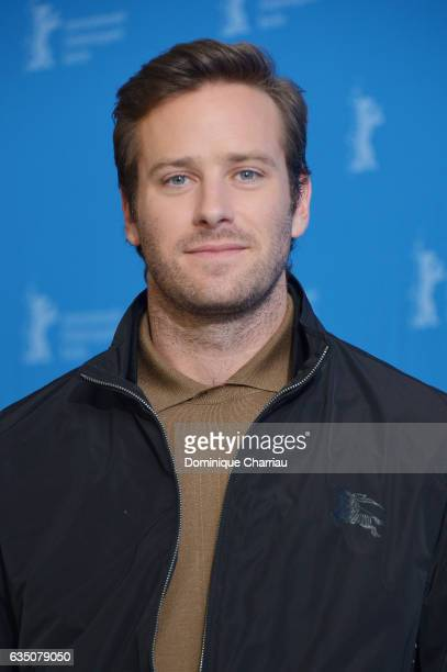 Armie Hammer attends the 'Call Me by Your Name' press conference during the 67th Berlinale International Film Festival Berlin at Grand Hyatt Hotel on...
