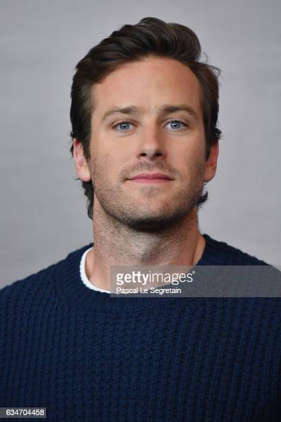 Armie Hammer attends the 'Final Portrait' press conference during the 67th Berlinale International Film Festival Berlin at Grand Hyatt Hotel on...