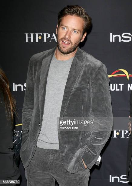 Armie Hammer attends the HFPA InStyle Annual Celebration of 2017 Toronto International Film Festival held at Windsor Arms Hotel on September 9 2017...