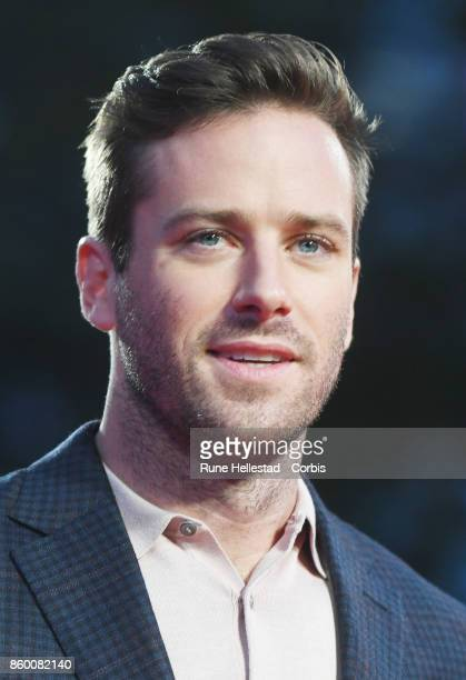 Armie Hammer attends the Mayor Of London Gala UK Premiere of 'Call Me By Your Name' during the 61st BFI London Film Festival on October 09 2017 in...
