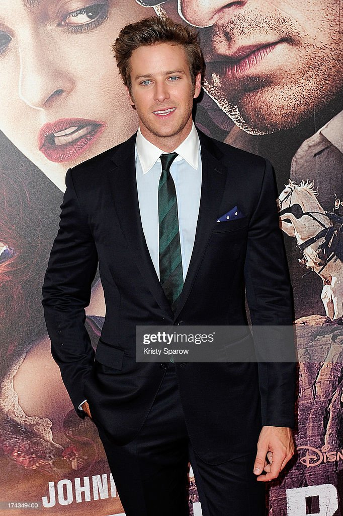 <a gi-track='captionPersonalityLinkClicked' href=/galleries/search?phrase=Armie+Hammer&family=editorial&specificpeople=5313113 ng-click='$event.stopPropagation()'>Armie Hammer</a> attends the Paris premiere of 'The Lone Ranger' at Cinema UGC Normandie on July 24, 2013 in Paris, France.