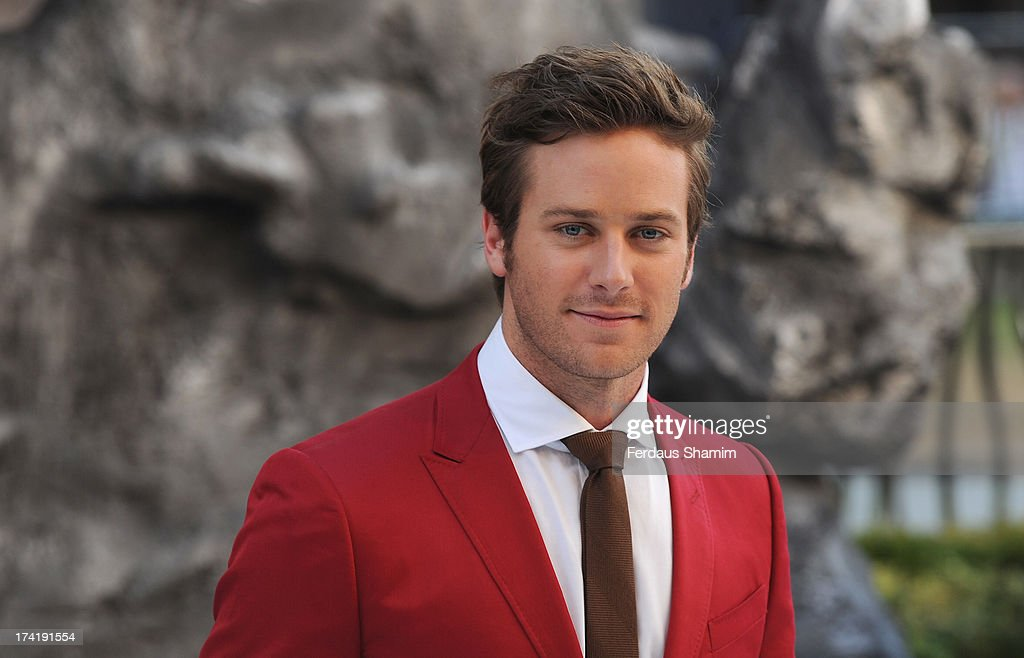 <a gi-track='captionPersonalityLinkClicked' href=/galleries/search?phrase=Armie+Hammer&family=editorial&specificpeople=5313113 ng-click='$event.stopPropagation()'>Armie Hammer</a> attends the UK premiere of 'The Lone Ranger' at Odeon Leicester Square on July 21, 2013 in London, England.
