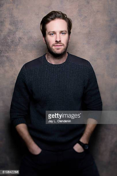 Armie Hammer of 'The Birth of a Nation' poses for a portrait at the 2016 Sundance Film Festival on January 25 2016 in Park City Utah CREDIT MUST READ...