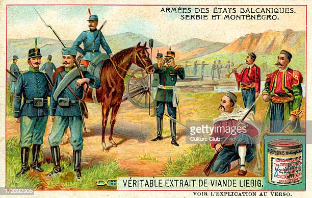 Serbia and Montenegro 1910 Liebig Extract of Meat Collectible Card