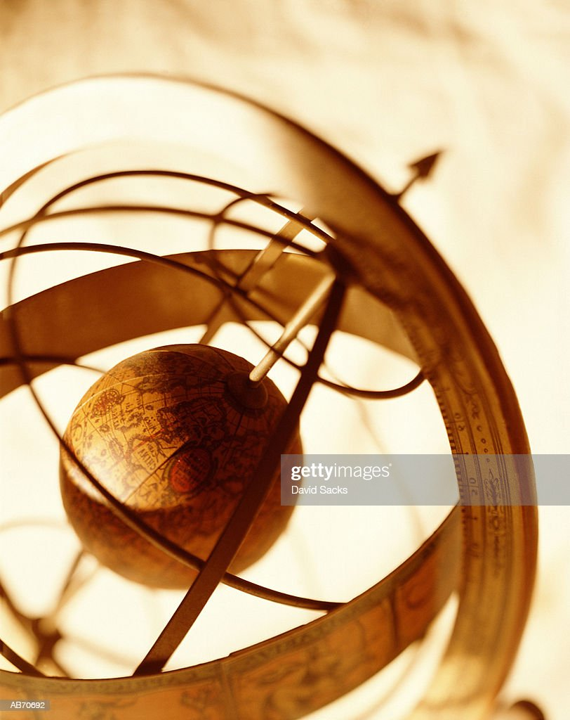 Armillary Sphere, close-up : Stock Photo