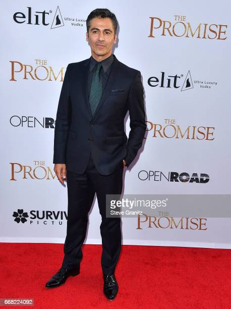 Armin Amiri arrives at the Premiere Of Open Road Films' 'The Promise' at TCL Chinese Theatre on April 12 2017 in Hollywood California