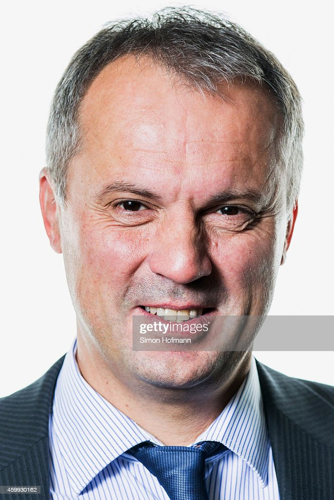 Armin Bertsch, manager of 'Fussballverband Rheinland', poses during DFB National Association General Manager - Photocall at DFB Headquarter on December 4, 2014 in Frankfurt am Main, Germany.
