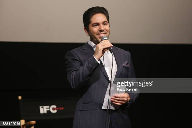 Armin Miladi attends Daricheh Cinema NY Features Special Guest Leila Hatami at IFC Center on August 23 2017 in New York City
