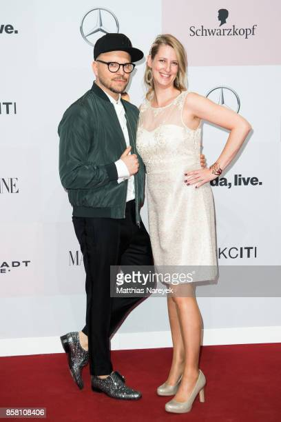 Armin Morbach and Nicola Surholt attend the Tribute To Bambi at Station on October 5 2017 in Berlin Germany