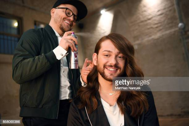 Armin Morbach and Riccardo Simonetti attend the Tribute To Bambi after show party at Station on October 5 2017 in Berlin Germany