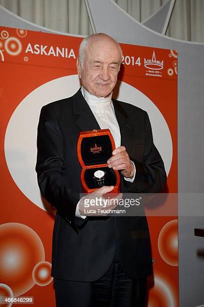 Armin MuellerStahl attends Askania Award 2014 at Kempinski Hotel Bristol on February 4 2014 in Berlin Germany