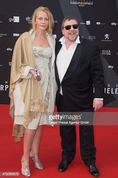 Armin Rohde and Karen Boehne attend the 'Deutscher Schauspielerpreis 2015' at Zoopalast on May 29 2015 in Berlin Germany