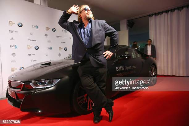 Armin Rohde arrives at the Players Night of the 102 BMW Open by FWU at Iphitos tennis club on April 30 2017 in Munich Germany