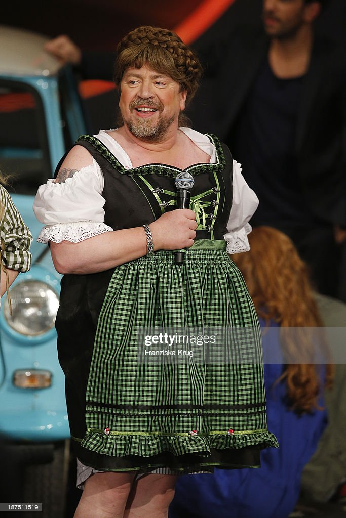 Armin Rohde attends Wetten, dass..? tv show on November 09, 2013 in Halle an der Saale, Germany.