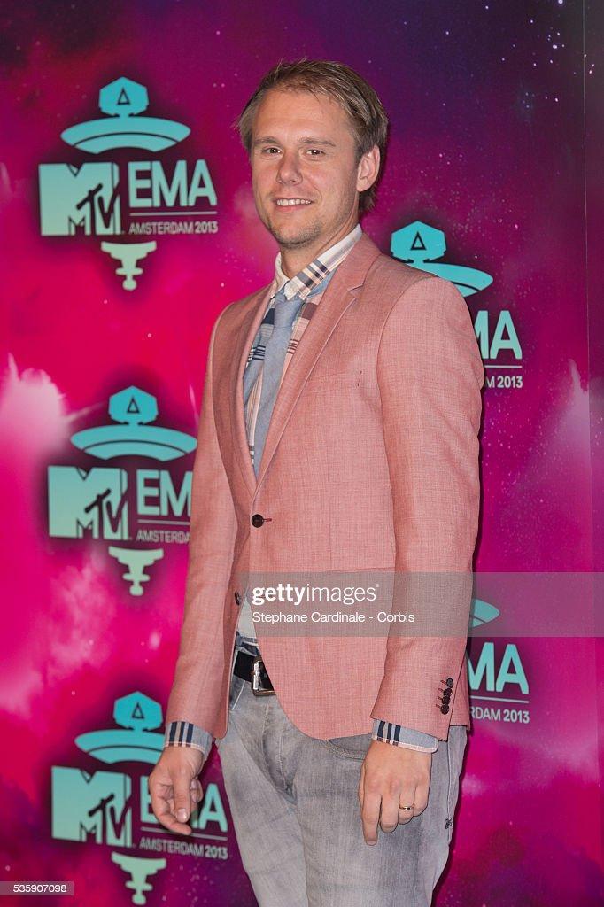 Armin van Buuren attends the MTV EMA's 2013 at the Ziggo Dome in Amsterdam, Netherlands.