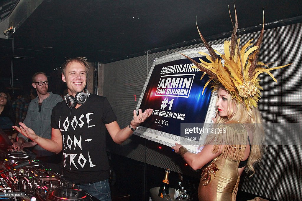 Armin van Buuren Performs At LAVO NY