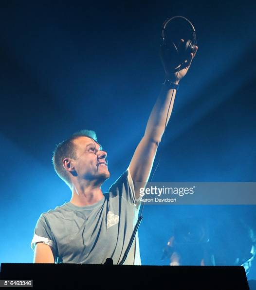 Armin van Buuren performs at Ultra Music Festival 2016 on March 18 2016 in Miami Florida