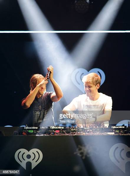 Armin van Buuren performs during Y 100 Jingle Ball at BBT Center on December 20 2013 in Sunrise Florida