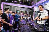 Armin van Buuren Performs On SiriusXM's BPM Channel At...
