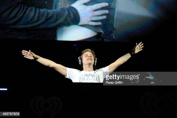 Armin van Buuren performs onstage during Power 961's Jingle Ball 2013 at Phillips Arena on December 11 2013 in Atlanta Georgia