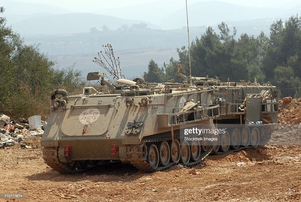 A M113 armored personnel carrier of the Israel Defense Forces.