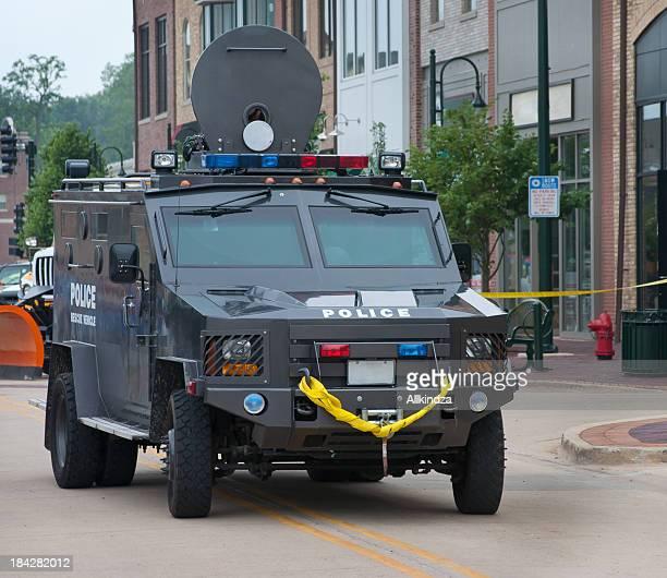 Polícia swat Carro Blindado