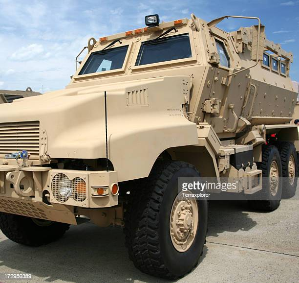 MRAP Armored Transport Vehicle