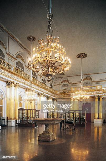 Armourial hall Winter Palace 17541762 architect Bartolomeo Francesco Rastrelli today the Hermitage Museum St Petersburg Russia