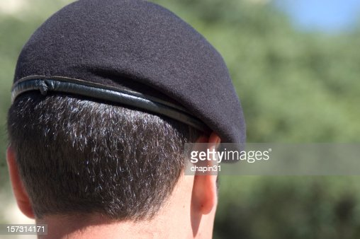 Army Cadet with Beret