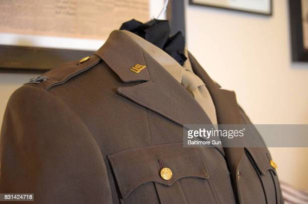 US Army Col Arthur Lee Shreve Jr's uniform sits in the home of author Heather Shreve She recently received a uniform from a collector who had...