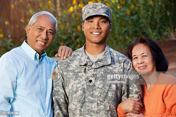 Army Family Portrait Outdoor