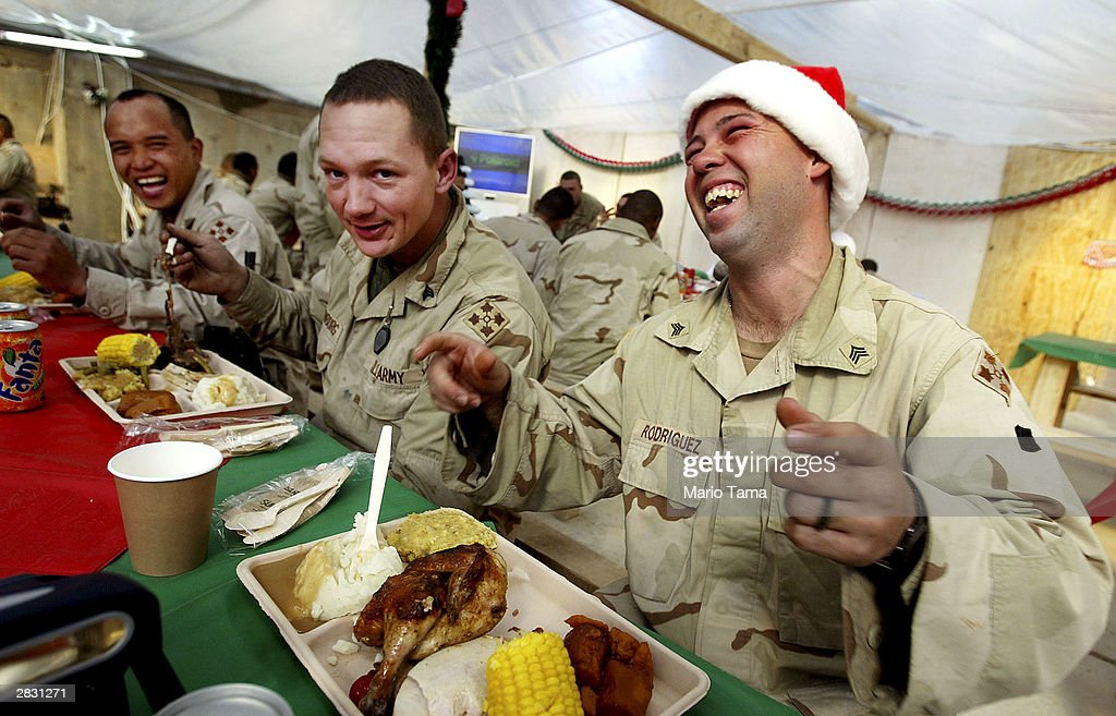 Image result for US and Iraqi soldiers on christmas