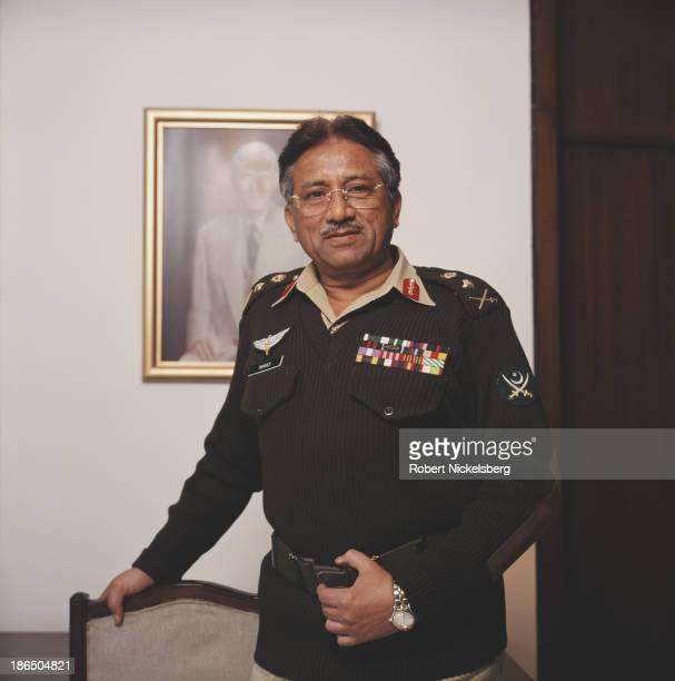 Army general politician and tenth President of Pakistan Pervez Musharraf 2000