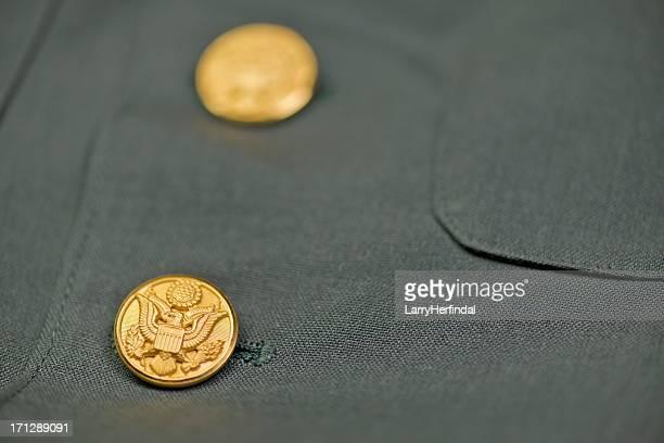 US Army chaqueta Eagle botones