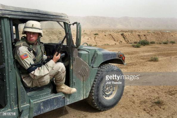 U S Army On Alert In Bayji Iraq Pictures Getty Images