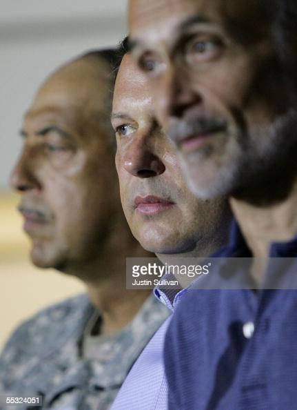 ... Russel Honore and FEMA Chief <b>Michael Brown</b> look on as Homeland Security ... - army-lt-general-russel-honore-and-fema-chief-michael-brown-look-on-as-picture-id55324051?s=594x594