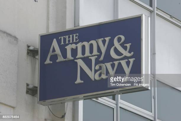 Army Navy Logo Lightwater Surrey