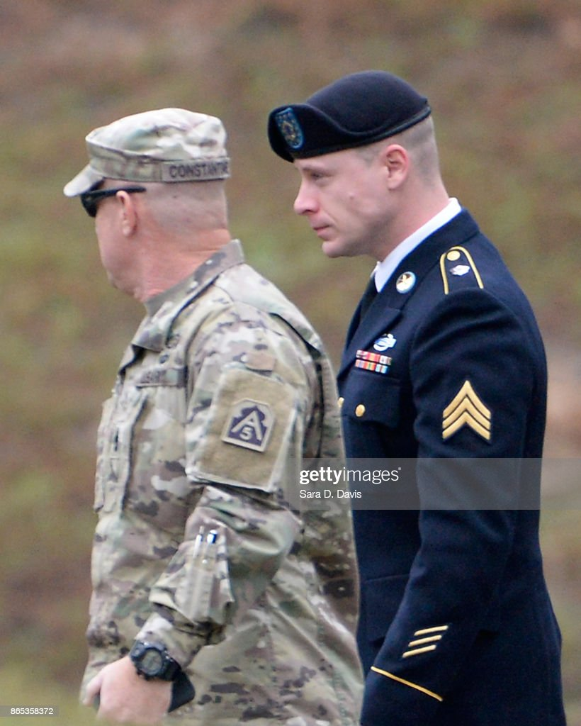 Bowe Bergdahl To Be Sentenced After Pleading Guilty To Desertion And Misbehavior