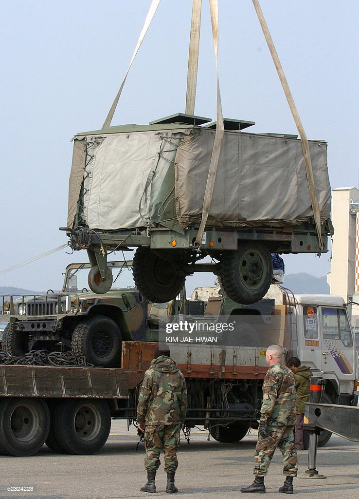 US Troops Begin Redeployment Photos And Images Getty Images - Us army bases in korea map