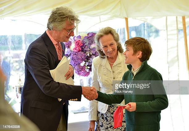 Arnaud Bamberger The Duchess of Richmond and Arthur Chatto attend Cartier Style Luxe Lunch Reception at Goodwood Festival of Speed at Goodwood on...