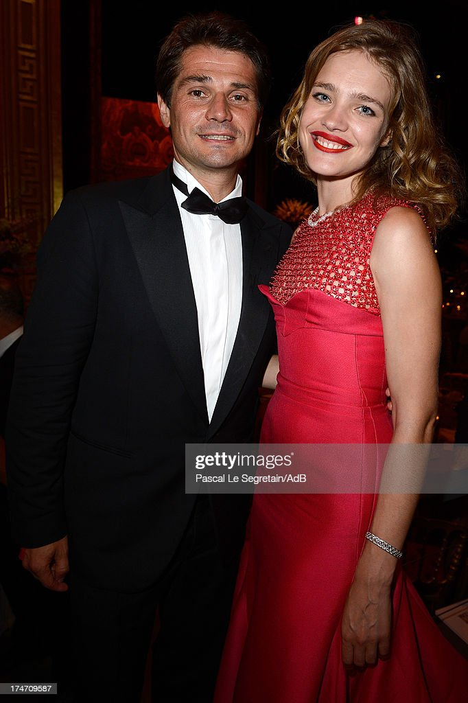 Arnaud Boetsch and <a gi-track='captionPersonalityLinkClicked' href=/galleries/search?phrase=Natalia+Vodianova&family=editorial&specificpeople=203265 ng-click='$event.stopPropagation()'>Natalia Vodianova</a> attend the dinner at 'Love Ball' hosted by <a gi-track='captionPersonalityLinkClicked' href=/galleries/search?phrase=Natalia+Vodianova&family=editorial&specificpeople=203265 ng-click='$event.stopPropagation()'>Natalia Vodianova</a> in support of The Naked Heart Foundation at Opera Garnier on July 27, 2013 in Monaco, Monaco.