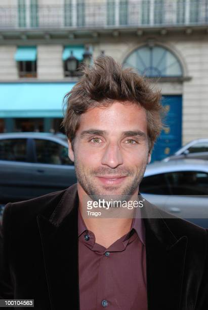 Arnaud Clement arrives at Jo Wilfried Tsonga 'Ace de Coeur' Charity Cocktail at Hotel Park Hyatt on May 20 2010 in Paris France