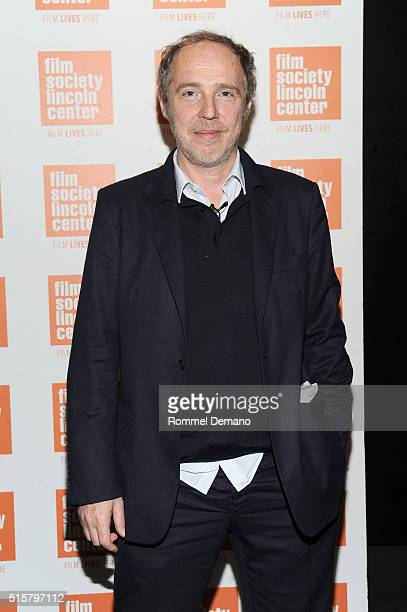 Arnaud Desplechin attends 'My Golden Days' New York Screening at The Film Society of Lincoln Center on March 15 2016 in New York City